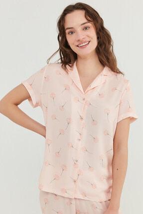 Penti Kadın Açık Pembe Pijama Takımı 2