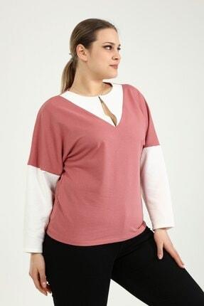 Picture of Agraf Detaylı 2 Iplik Sweatshirt