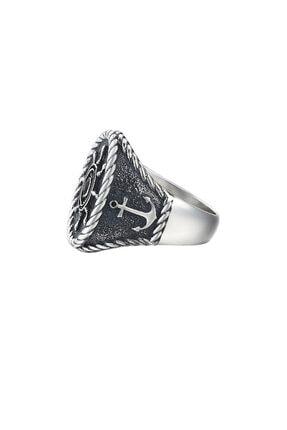 ATOLYESTONE Dümen Yüzük -gümüş 1