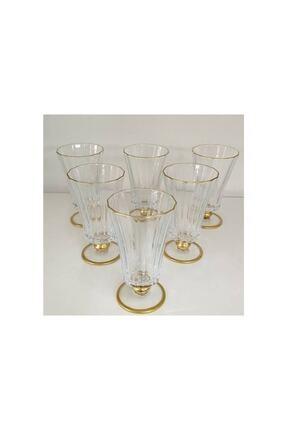 Paşabahçe 440186 Diamond Gold 6 Parça Bardak Seti Kahve Yanı Su Bardağı 0