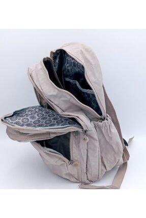 ÇantaExpress Unisex Siyah Krinkıl Kumaş Yeni Okul Ve Sırt Çantası 2