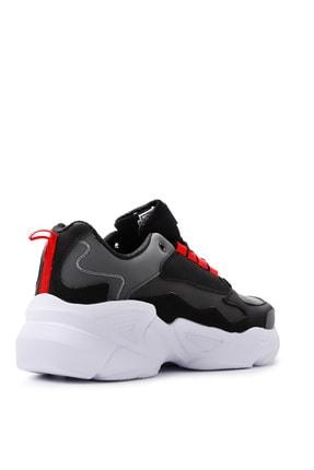Slazenger ITALY Sneaker Kadın Ayakkabı Siyah / Beyaz SA20LK037 2