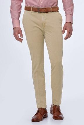 Hemington Erkek Kum Rengi Yazlık Chino Pantolon 0
