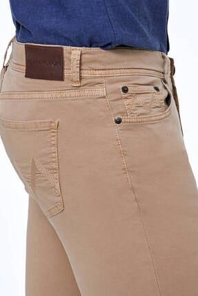 Hemington Erkek Camel Yazlık Pantolon 4