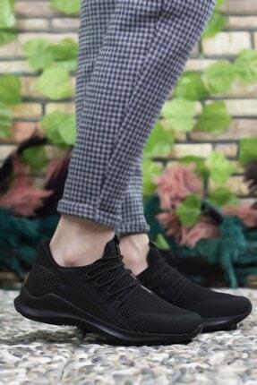 Riccon Erkek Siyah  Sneaker 0012180 3