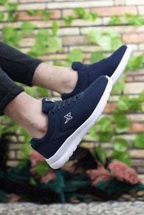 Riccon Lacivert Beyaz Unisex Sneaker 0012065 1