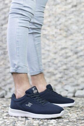 Riccon Lacivert Beyaz Unisex Sneaker 0012065 2