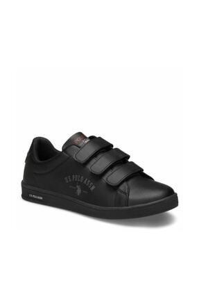 US Polo Assn SINGER Siyah Kadın Sneaker Ayakkabı 100486446 0