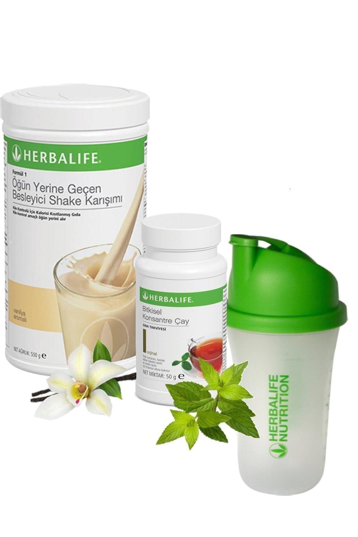 Shake Vanilya 550 gr + Çay Klasik 50 gr + Shaker