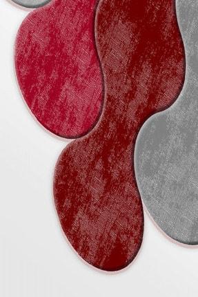 Saray Figürlü Dijital Halı Poppy Kırmızı Saray-FG-Poppy