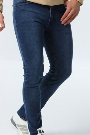 jocuss Erkek Mavi Slim Fit Likralı Pantolon 1