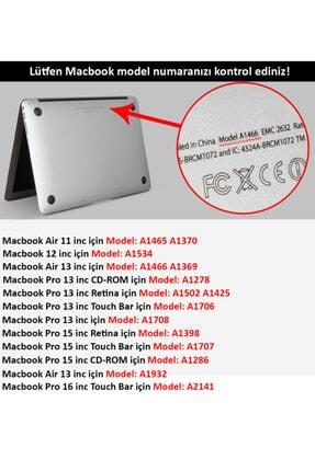 "CODEGEN Apple 13"" Macbook Air 2020 (m1) A2337 Şeffaf Kılıf Koruyucu Kapak Cmatm-133t 2"