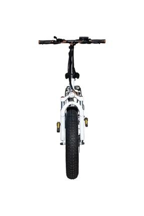 RKS Rs3 Pro Katlanabilir Elektrikli Bisiklet Beyaz 2