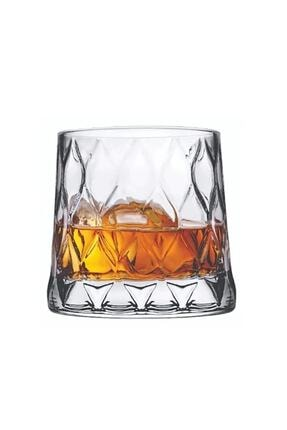 Paşabahçe Leafy Viski Bardağı 4 Adet 420194 Cam Bardak 0