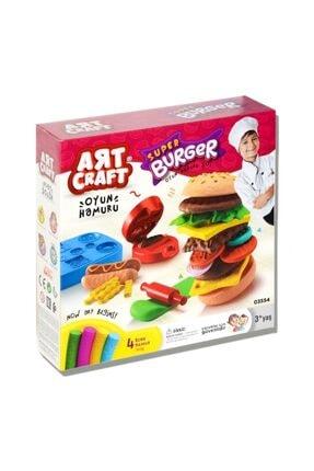 DEDE Hamburger Oyun Hamuru Seti 0