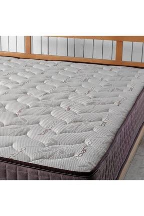 US. SLEEPING Kahve Full Ortopedik Bamboo Classic Yaylı Yatak 4