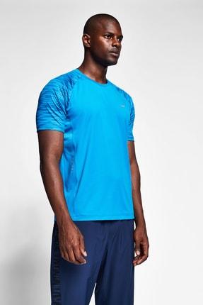 Lescon Erkek Mavi T-shirt 20b-1050 4
