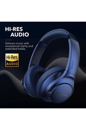 Anker Soundcore Life Q20 Kablosuz Kulaklık - Mavi 2