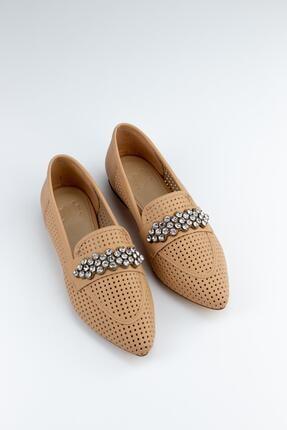 Gökhan Talay Reyla Taşlı Yazlık Kadın Loafer Günlük Ayakkabı 2