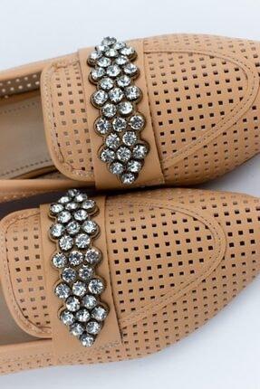 Gökhan Talay Reyla Taşlı Yazlık Kadın Loafer Günlük Ayakkabı 3