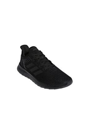 adidas F36333 Asweerun Koşu Ve Yürüyüş Erkek Spor Ayakkabı Siyah 1