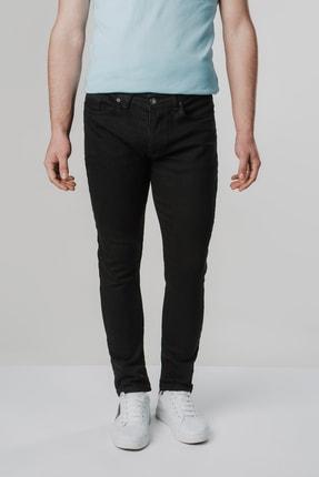 Erkek Siyah Slim Fit Jean Pantolon DHESKOT12345