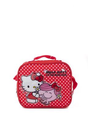 Hakan Çanta Kız Çocuk Kırmızı Lisanslı Hello Kitty Karakterli Beslenme Çantası 1