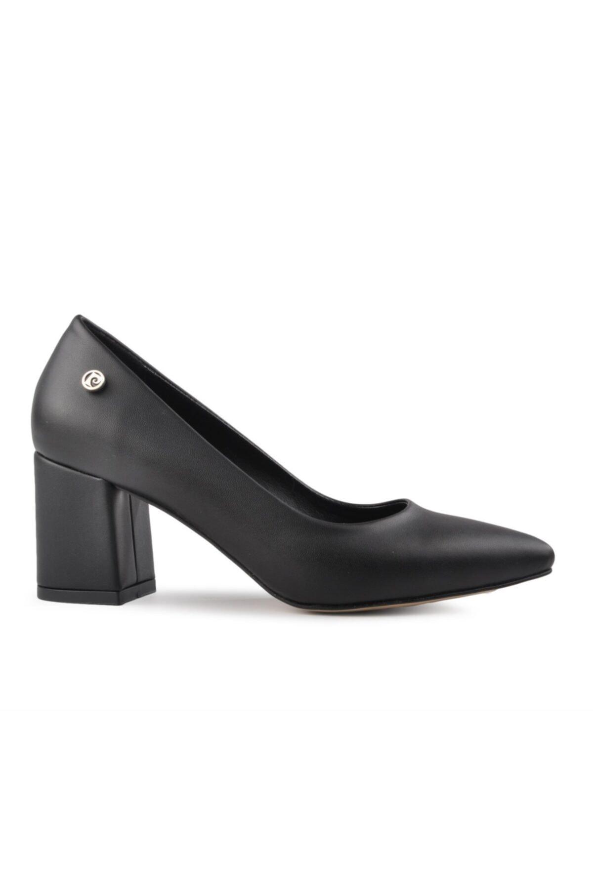50176 Siyah Kadın Topuklu Ayakkabı
