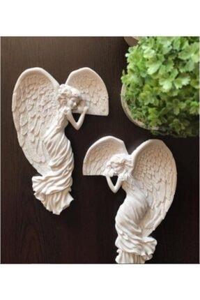 Dagosstore Angel - Melek Ev Dekorasyonu - (SAĞ VE SOL) - Kapı Ve Duvar Aksesuarı - Dekorasyon 2