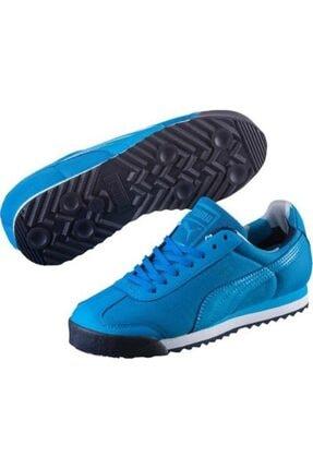 Puma Unisex Mavi Roma Günlük Spor Ayakkabı 362484-03 0