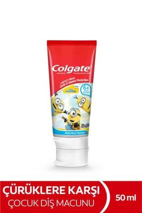 Colgate Minions Çürüklere Karşı Etkili Çocuk Diş Macunu 50 ml 0