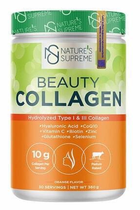 Natures Supreme Beauty Collagen Powder 360 gr - Portakal 4
