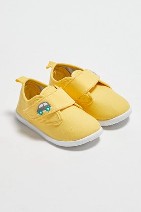 LC Waikiki Erkek Bebek Sarı Crk Sneaker 0