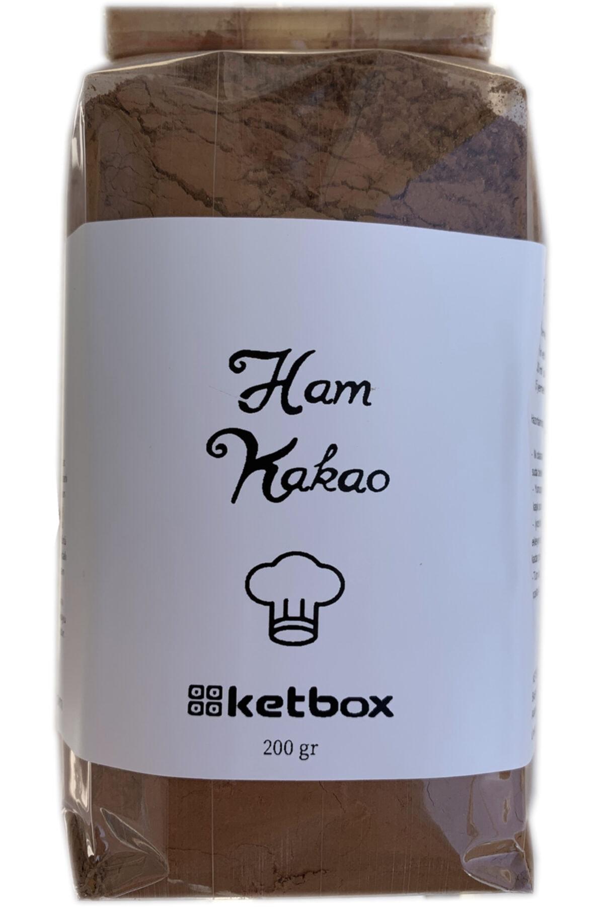 Doğal Ham Kakao Tozu 400gr (2 Paket*200gr)
