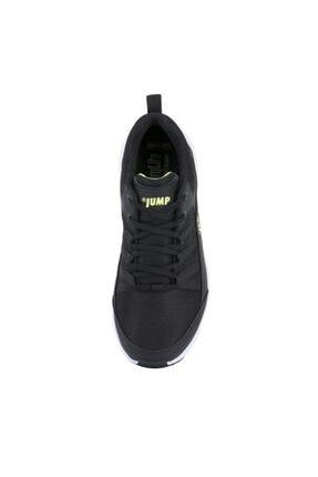 Jump 24865 Siyah - Neon Yeşil Erkek Spor Ayakkabı 3