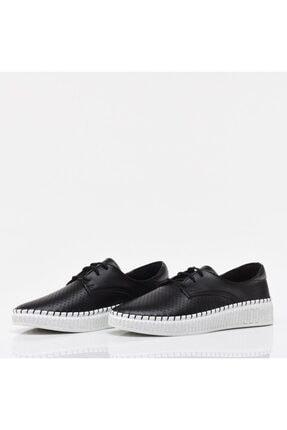 Hotiç Siyah Yaya Kadın Günlük Ayakkabı 2