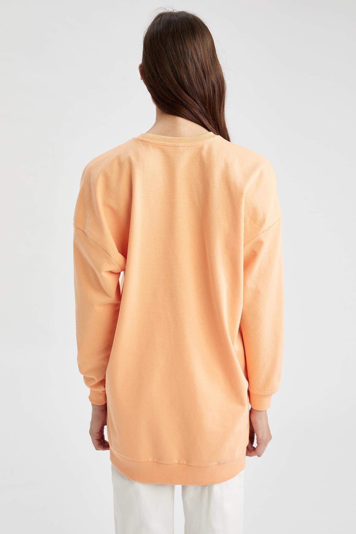Defacto Modest Oversize Fit Sweat Tunik 3