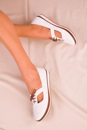 Soho Exclusive Beyaz Kadın Casual Ayakkabı 16101 2