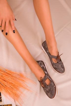 Soho Exclusive Platin Kadın Casual Ayakkabı 16101 1