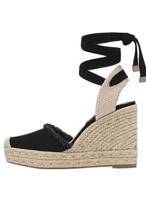 Picture of Bağcıklı Jüt Dolgu Topuk Ayakkabı