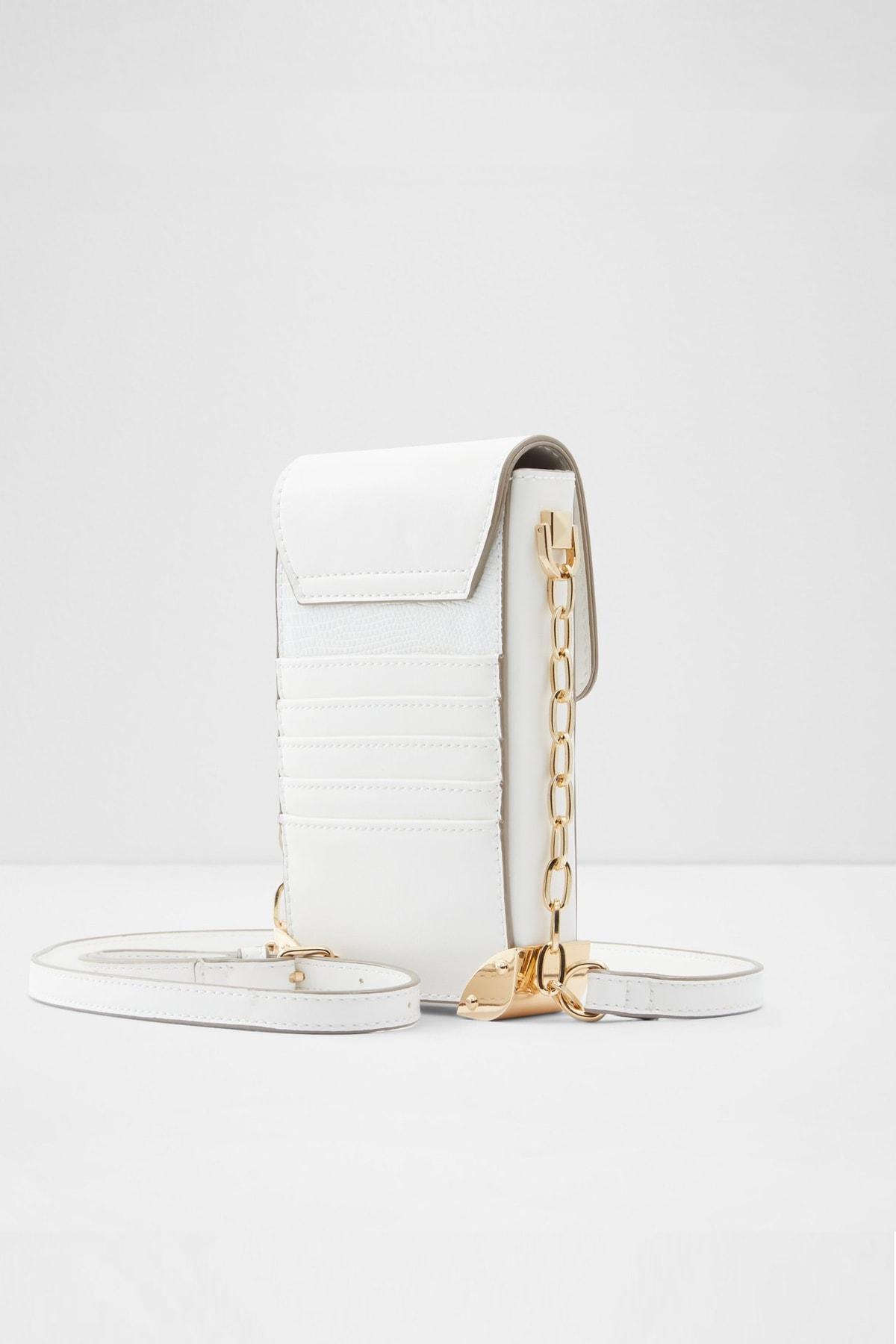 Aldo Kadın  Beyaz Çapraz Çanta