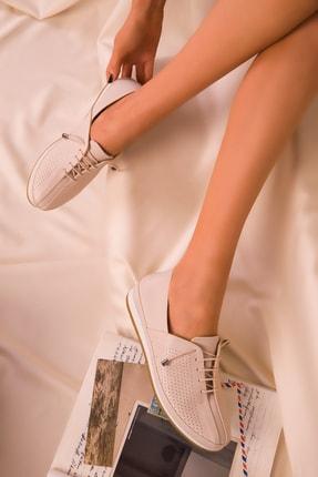 Soho Exclusive Bej Mat Kadın Casual Ayakkabı 16017 1