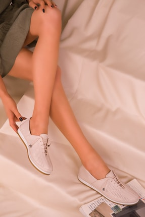 Soho Exclusive Bej Mat Kadın Casual Ayakkabı 16017 2