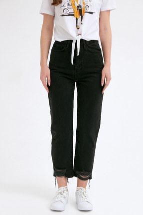 Fullamoda Kadın Paça Detaylı Pantolon 3