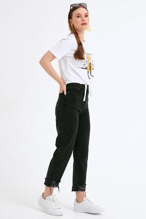 Fullamoda Kadın Paça Detaylı Pantolon 4