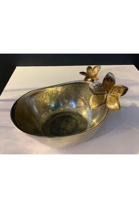 Dekoratif Çiçekli Tabak Kase NTBHAL21146B