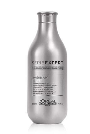 L'oreal Professionnel Serie Expert Silver Çok Açık Sarı Gri Ve Beyaz Saçlar İçin Renk Dengeleyici Mor Şampuanı 300 ml 0