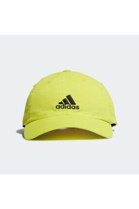 adidas GJ8312 Aeroready Erkek Şapka Sarı 0