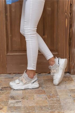 Kadin Beyaz Multi Sneakers 34781