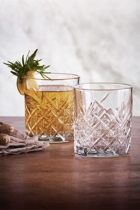Paşabahçe 6 Parça Tımeless Viski Keyfi Seti - 4 Viski Bardağı + 2 Çerezlik Kase 1